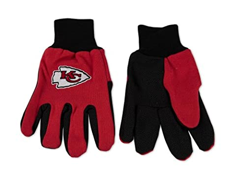 Kansas City Chiefs Two-Tone Gloves by WinCraft