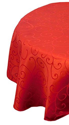36-pouces-rouge-de-damass-Nappe-Ronde-Accueil-Arts-de-la-Table-de-Nol