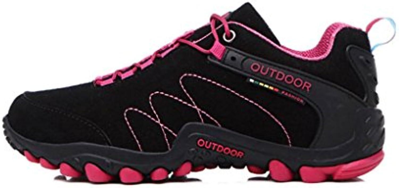 YaXuan Neue Wanderschuhe  Herren Paar Outdoor Schuhe  Rutschfeste Tragen Cross Country Laufschuhe  Schnürschuhe