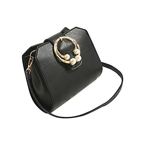 Produp Damenmode Handtasche Flut Ins Kleine Quadratische Tasche Chic Retro Lässig Umhängetasche Kapazität Studententasche