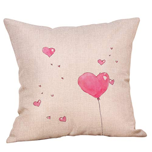 Epigeon Sweet Love Heart Kissenbezug, Happy Valentine Home Decor Platz werfen Kissenbezug 18