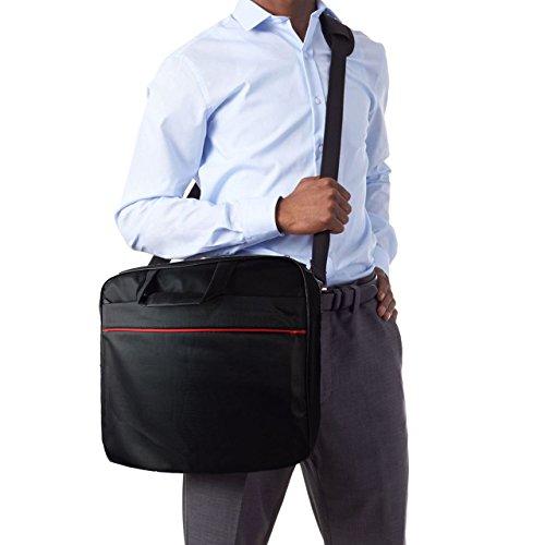 Laptoptasche fr HKC NT14W DE Businesstasche Aktentasche Notebooktasche mit Schultergurt LB Schwarz 4 Aktentaschen