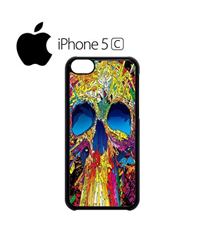 Skull Skeleton Art Drawing Retro Funny Hipster Swag Mobile Phone Case Back Cover Hülle Weiß Schwarz for iPhone 5c White Weiß