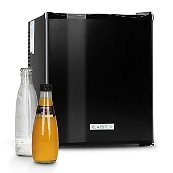 Klarstein 10005400 mks 11 minibar silencieux mini frigo - Frigo noir mat ...