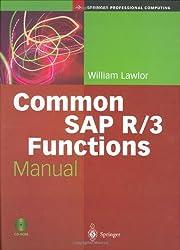 Common SAP R/3 Functions Manual (Springer Professional Computing)