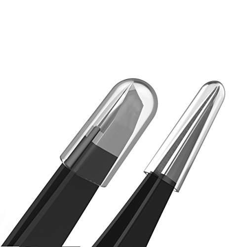 Tweezers For Eyebrows Stainless Steel Slanted And Pointed Eyebrow Tweezer Set Precision Removal Of Facial Hair Ingrown Hair And Splinter Professional Blackhead Tick Remover For Men Women