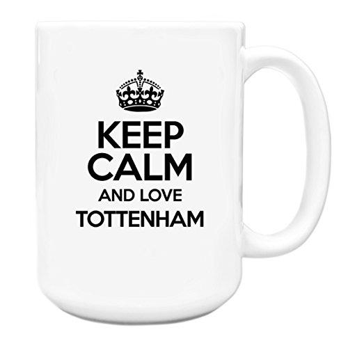 BLACK-Keep-Calm-and-Love-Tottenham-Big-15oz-Mug-TXT-0673