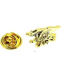 Gemelolandia Pin de Solapa Insignia de los Seals USA Dorado 1523f035dbb0a