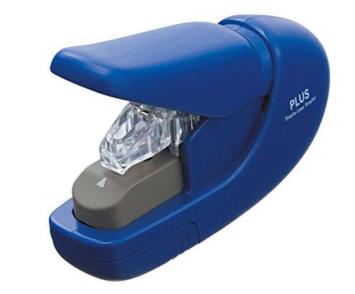 plus-japan-staple-free-stapler-blue-5-sheets-environment-friendly