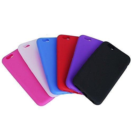 iPhone 66Plus Coque, fishberg en gel silicone souple Housse Skin Étui en caoutchouc souple pour iPhone 66S 11,9cm iPhone 6Plus 14cm iPhone 6 Black