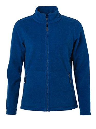 James & Nicholson Damen Fleece Jacke, Blau (Royal), 40 (Herstellergröße: XL)