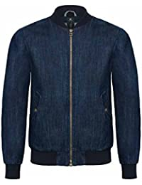 B&C - blouson jean - Denim Bomber Jacket - DNM Supremacy Men - Homme