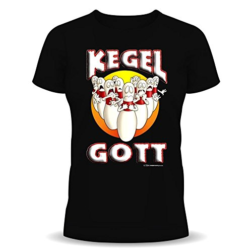 Stiloso e alla moda Fun T-Shirt: cono-dIo (con angelo nome) (colore: Nero)
