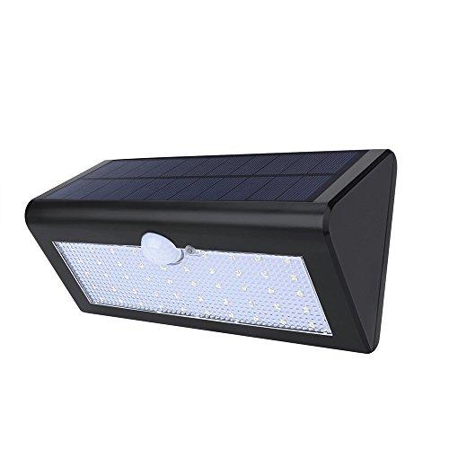 Solarleuchten Motion Sensor Sicherheit Lichter, ruichicoo 3Intelligente Modi und 48LED PIR Wireless wetterfest Sicherheit Solar Licht Bewegungsmelder Lampe Weiß für Garten/Hof/Weg (48 Lampen)