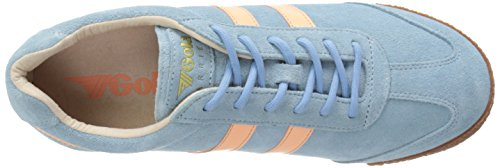 Gola Harrier, Damen Outdoor Fitnessschuhe Blau (Blue/Coral)