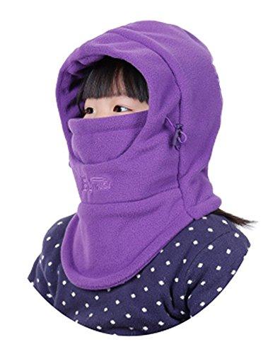 ZZLAY Sombrero pasamontañas niños Espesor térmico