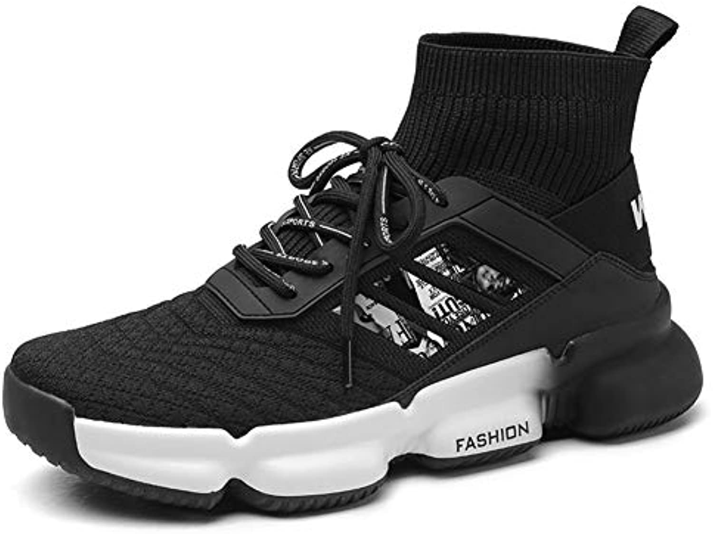 Xue Scarpe Sportive da Uomo, Caduta scarpe scarpe scarpe da ginnastica Alto-Top, Scarpe Comfort Running, Stivali in Maglia, Scarpe da Corsa... | Nuovo Arrivo  f618d3