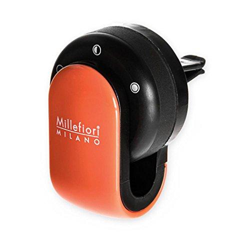 Millefiori 8059265190065 Diffusore di prufumo per Auto Go Colore Arancione, Multicolore, U