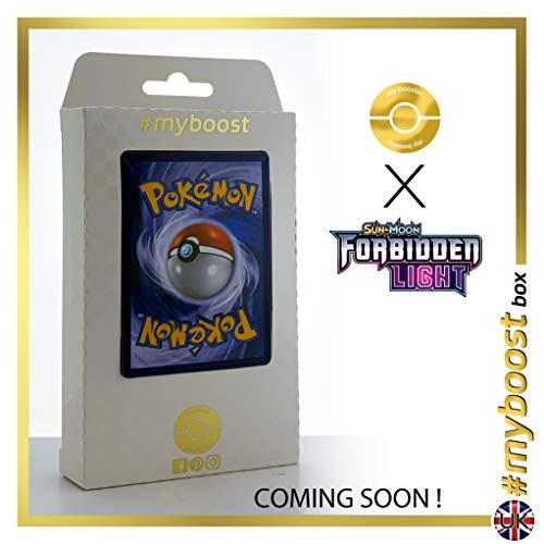 Beast Ring (Anillo Ente) 141/131 Entrenadore Secreta - #myboost X Sun & Moon 6 Forbidden Light - Box de 10 cartas Pokémon Inglesas