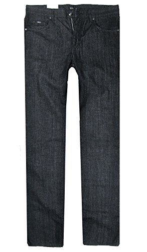 BOSS BLACK 5-Pocket Jeans COLUMBIA Regular Fit black rinsed (Fit Jean 5-pocket-easy)