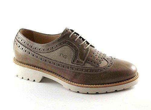 BLACK JARDINS 17193 taupe beige chaussures en cuir brogues Anglais Fringe Beige