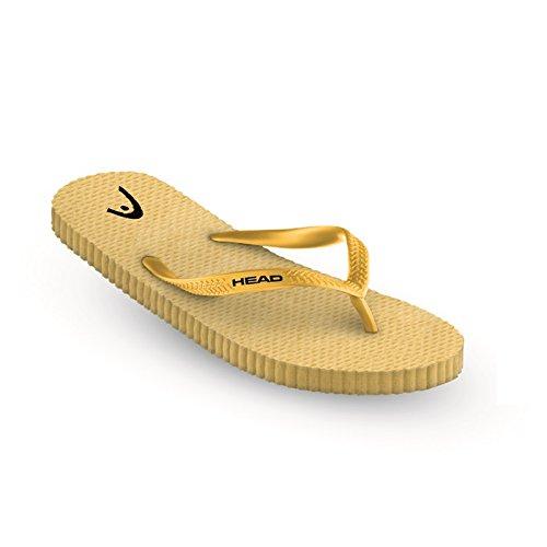 Toe Trenner Cabeça Amarelo Fun yw adult Unisex Slipper RwwfqxIv4