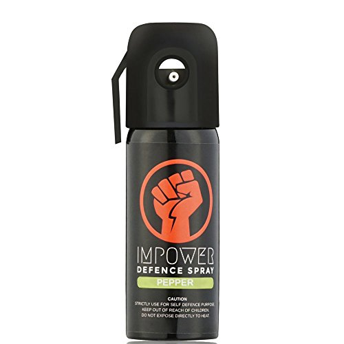Impower Self Defence Pepper Spray For Women Sprays Upto 12 Feet And 45 Shots - Police Strength
