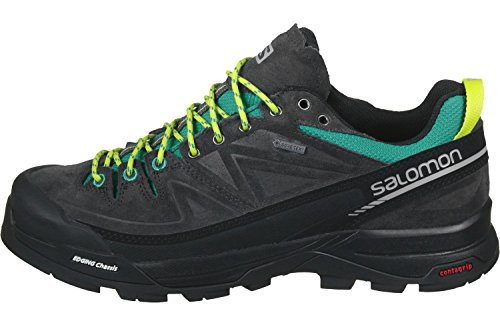 Salomon X Alp Ltr GTX Women's Trail Laufschuhe - SS17 Deep Peacock Blue/Phantom/Lime Punch