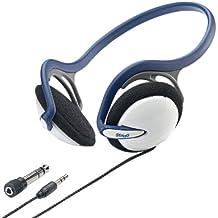 Stagg SHP-1200H - Auriculares estéreo (ligeros), color azul