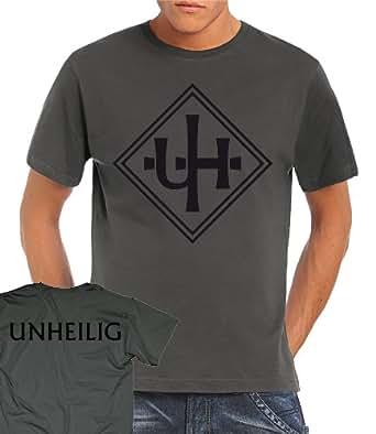 Unheilig - Unheilig Logo T-Shirt Darkgrey, M