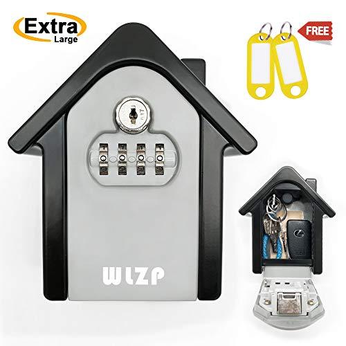 Schlüsseltresor, die Reset Tisch Code, Enthalten Schlüssel zum Passwort Vergessen, Geeignet für Haus, Fabrik, Baustelle Key Storage und Management, Geschenke - 2 Schlüsselbund