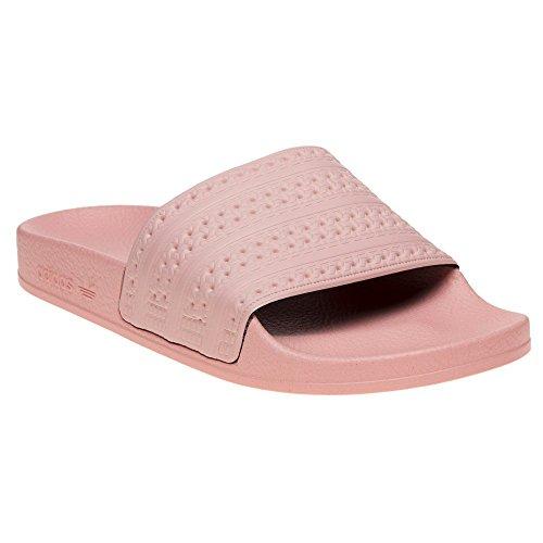 Adidas adilette, scarpe da spiaggia e piscina bambino, arancione (haze coral hazcor), 36 2/3 eu