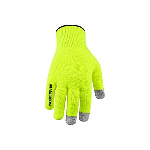 222a8b40a3d Madison Isoler Merino winter Gloves Hi-Viz Yellow Medium