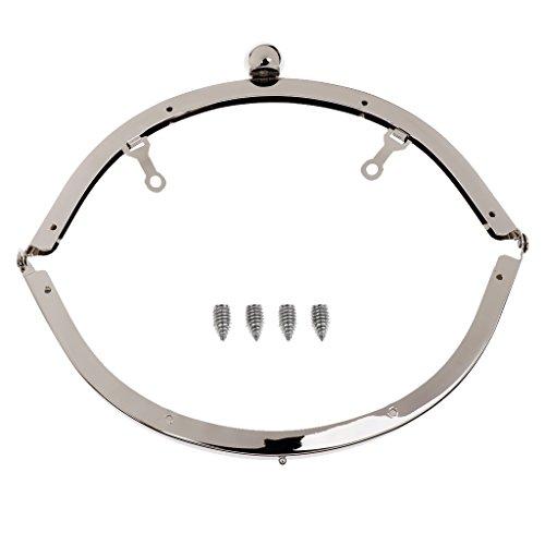 Kuss-Verschluss Rahmen Taschenbügel Metallbügel mit Griff für