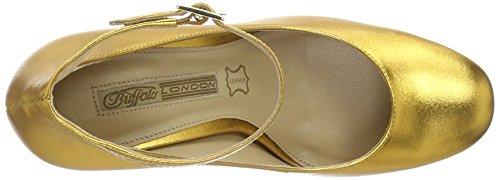 Buffalo Zs 6454-16 Metallic, Escarpins Femme Or (Gold 87)