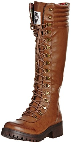 Rocket Dog Landers, Damen Stiefel, Braun (Brown) , 37 EU (Schuhe Rocket Dog Stiefel)