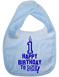 Image is Everything - Happy Birthday to ME! 1 year old - Baby, Toddler, Feeding Bib