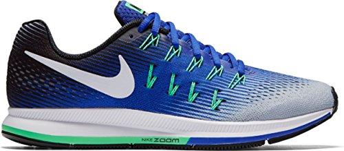 Nike Herren Air Zoom Pegasus 33 Laufschuhe WOLF GREY/WHITE-COOL GREY-