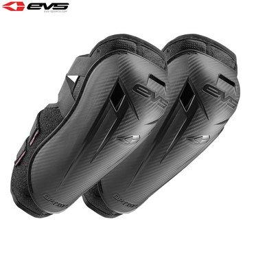 EVS Option Motorrad verstärkte Paar Ellbogenschoner Youth schwarz