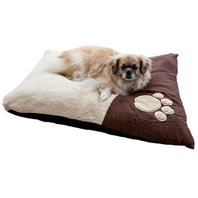emma-barclay-paw-pet-bed-pillow-chocolate-68-x-91-cm