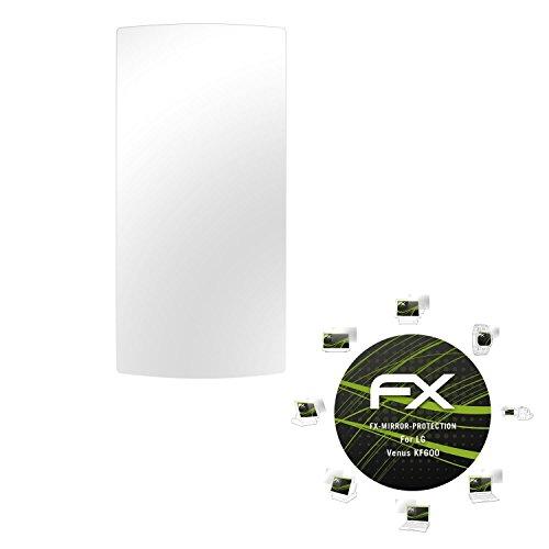 atFoliX LG Venus (KF600) Spiegelfolie - FX-Mirror Displayschutz mit Spiegeleffekt