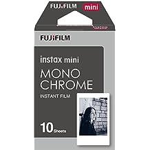 Fujifilm 16531958 - Colorfilm instax mini monocromático, película fotográfica instantánea (10 hojas per pack), blanco y negro