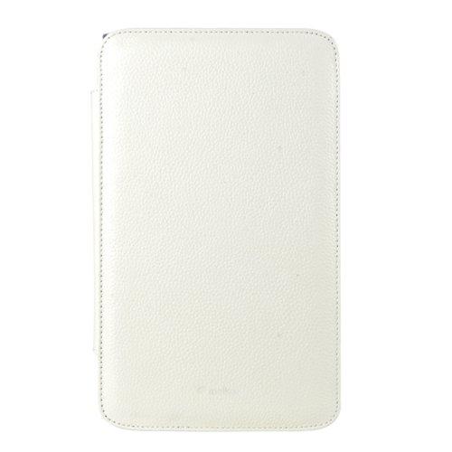 Melkco LGPA83LCKO2WELC Premium Leder Case für LG Optimus G Pad 21,1 cm (8,3 Zoll) weiß