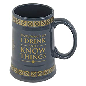 Game of Thrones MGS24848 - Taza de cerámica con forma de Stein (595 ml), multicolor 2