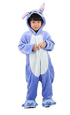 Arkind Unisexe Animal Pyjama Enfant Fille Garçon Combinaison vêtement et Chaussure Pantoufle Halloween Cosplay Costume Cadeau Anniverssaire