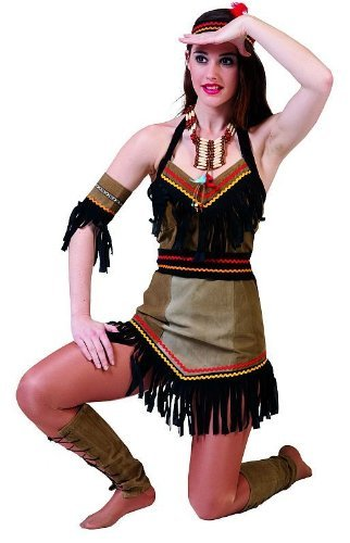 Kitty Kostüm Mädchen Hallo - Indianerin Kaya Kostüm Damen Gr. 42