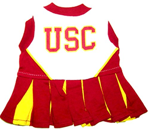Mirage USC Universität Hund Cheerleader Outfit (Usc Cheerleader-outfits)