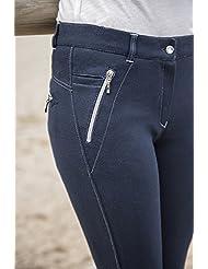EQUI-THÈME Culotte Equitation Pantalon Zipper