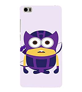 EPICCASE Warrior Minion Mobile Back Case Cover For Xiaomi Mi5 (Designer Case)