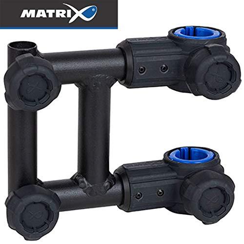 Fox Matrix 3D-R Brolley Bracket Short 18cm - Schirmhalter für Sitzkiepe, Halterung für Angelschirm zum Stippangeln & Feederangeln